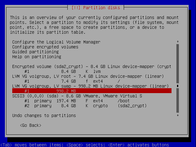 howtos:full_disk_encryption [Lnxgeek org Wiki - Freedom of